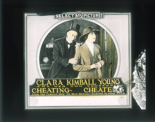 Slide Cheating Cheaters (1919) Clara Kimball Young (a), Kathryn Stuart (w), PC