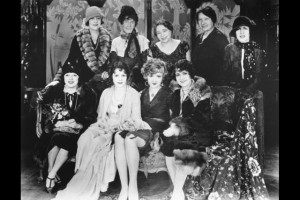 Leah Baird, Flora Finch, Ann Brody, Anne Shaeffer, Anita Stewart Mabel Normand, Norma Talmadge, Constance Talmadge, Florence Turner, 1926,AMPAS