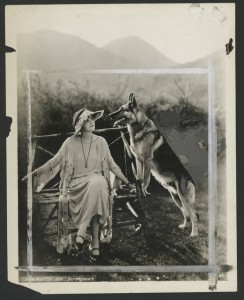 Jane Murfin (d/w) with Strongheart, NYPL