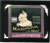 Slide The Brat (1919), Alla Nazimova (a/p/w), June Mathis (co-w), PC