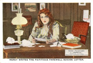 Mary Pickford (a/p/w/o) Caprice (1913). PC