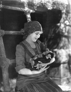 Mary Pickford (a/p/w/o) The Love Light (1921) Frances Marion (w/d). PC