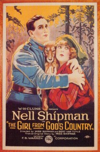 poster The Girl From God's Country (1921) Nell Shipman (a/w/d), BSU