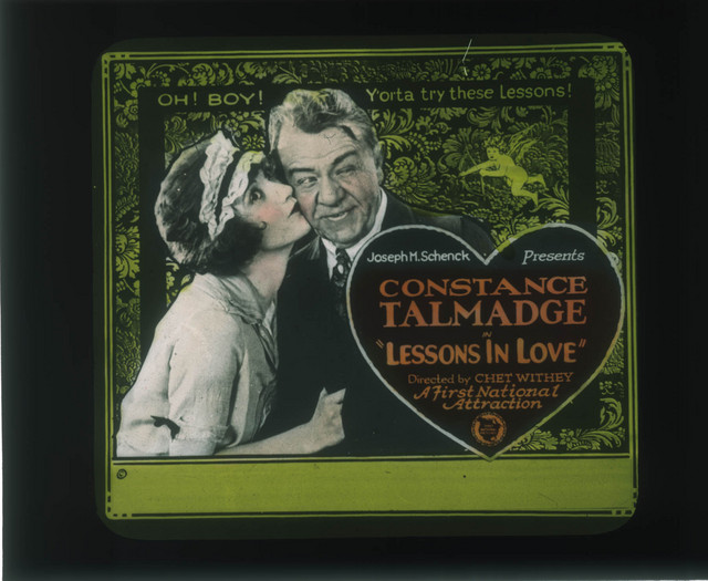Constance Talmadge (a/p) <i>Lessons in Love</i> (1921). PC