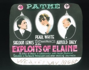 Pearl White (a) The Exploits of Elaine (1914), PC