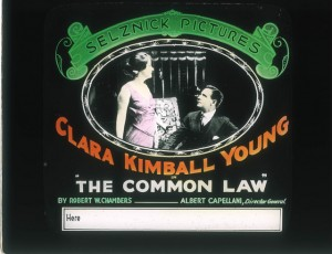 Slide The Common Law (1916) Clara Kimball Young (a), Beryl Morhange (w), PC