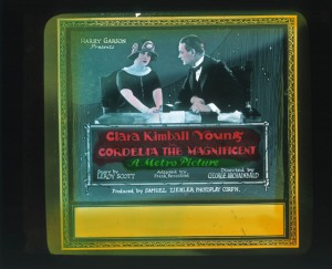 Slide Cordelia the Magnificent (1923) Clara Kimball Young (a), PC